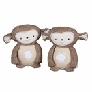 Plush Monkey Bookends