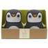 Plush Penguin Bookends