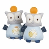 Plush Robot Bookends