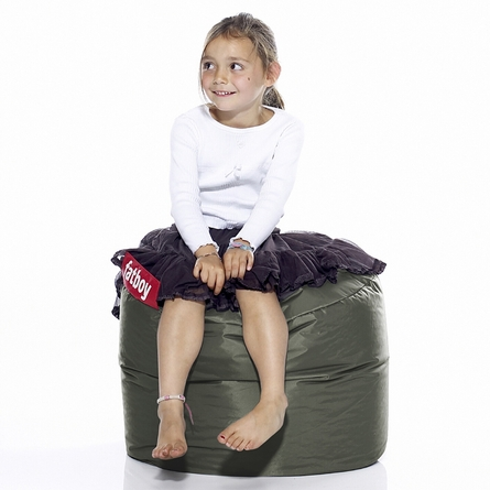 Point Beanbag In Olive Green