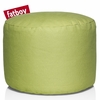 Point Stonewashed Beanbag In Lime Green