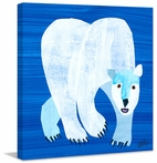 Polar Bear Canvas Wall Art