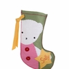 Polar Bear Girl Personalized Christmas Stocking