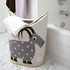 3 Sprouts Polar Bear Laundry Hamper