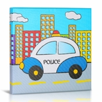 Police Canvas Wall Art
