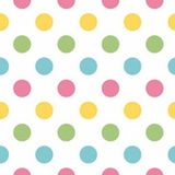 Polka Dot in Rainbow