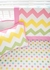 Polka Dot in Rainbow Crib Sheet