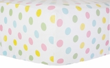 Polka Dot in Rainbow Crib Sheet $(+54.00)