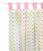 Polka Dot in Rainbow Curtain Panels - Set of 2