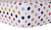 On Sale Polka Dot in Rugby Crib Sheet