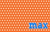 Polka Dot Love Personalized Placemat
