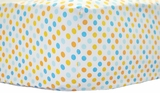 Polka Dot Parade Crib Sheet $(+46.00)