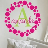 Polka Dot Wall Art