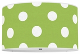 Polka Dots Apple Green