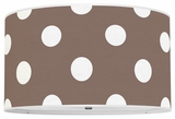 Polka Dots Chocolate Brown