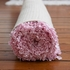 Polkamania Shaggy Raggy Rug in Pink and White