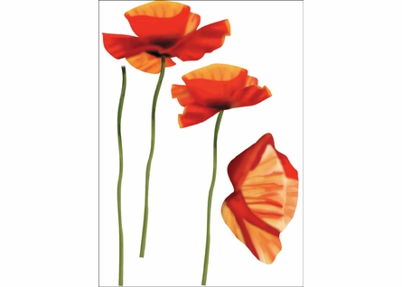 Poppies Wall Decals