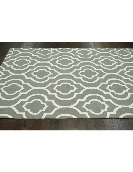 Poppy Rug in Gray