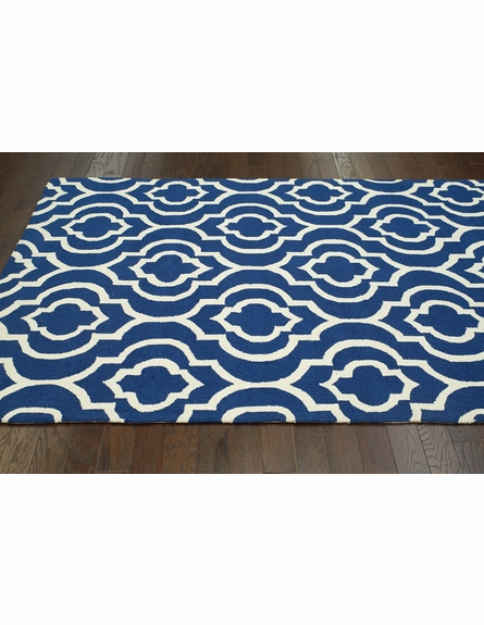 Poppy Rug in Navy