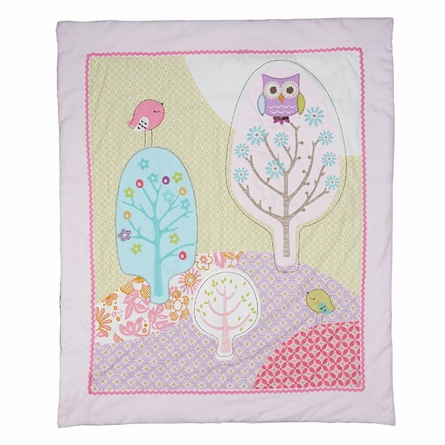 Poppy Seed All Seasons Crib or Toddler Quilt