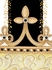 Posh Princess Crown Personalized Wall Hanging in Antico Black