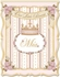 Posh Princess Crown Personalized Wall Hanging in Pink & Coco Chateau