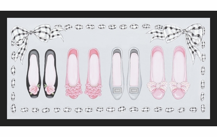 Posh Socialite Shoes Canvas Reproduction