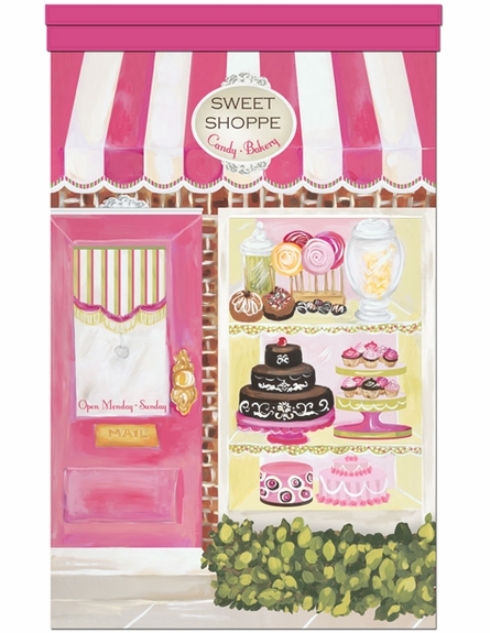 Posh Sweet Shoppe Personalized Wall Hanging