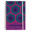 Positano Hexagons 17 Month Hard Cover Agenda
