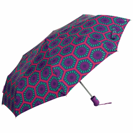 Positano Hexagons Umbrella