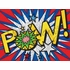 Pow! Canvas Wall Art