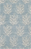 Powder Blue Coral Reef Escape Rug II