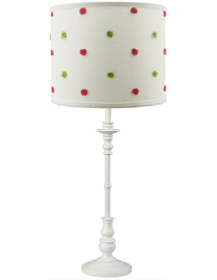 Powder Puff Pink Lamp Shade