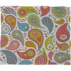 Power Paisley Fleece Throw Blanket