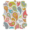 Power Paisley Quatrefoil Magnet Board