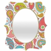 Power Paisley Quatrefoil Mirror