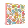 Power Paisley Wrapped Canvas Art