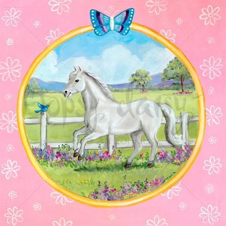 Prance with Me Canvas Wall Art