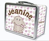 Precious Puppy Personalized Lunch Box