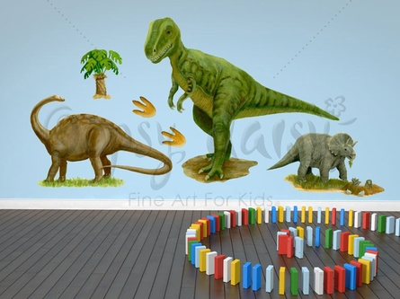 Prehistoric Pals Peel & Place Wall Stickers