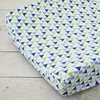 Preppy Navy Boy Changing Pad Cover