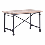 Presidio Heights Desk Natural Oak