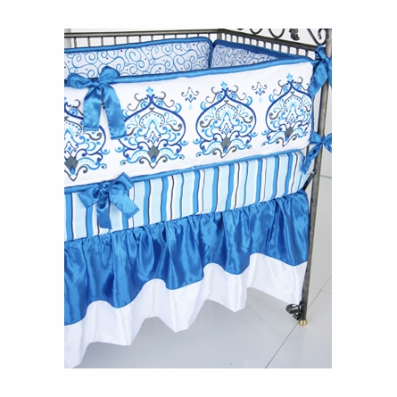 Preston 4-Piece Crib Bedding Set