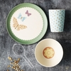 Pretty Butterflies Bamboo Dinner Set