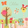 Pretty Critters Canvas Wall Art
