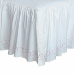 Pretty in Pink Bed Skirt