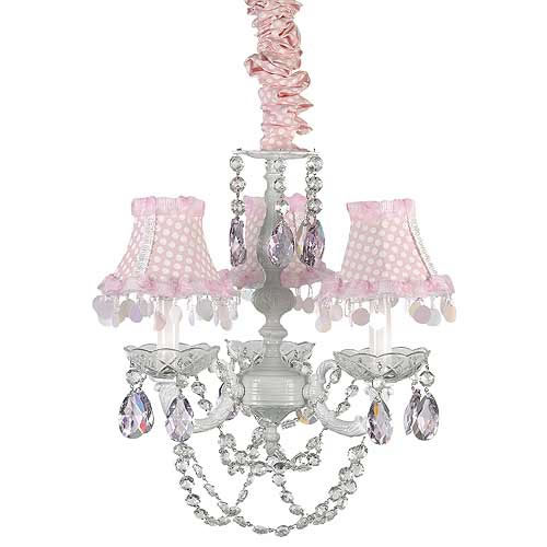 Pretty In Pink Chandelier by Gilbert Designs