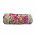 Pretty in Pink Neckroll Decorative Pillow