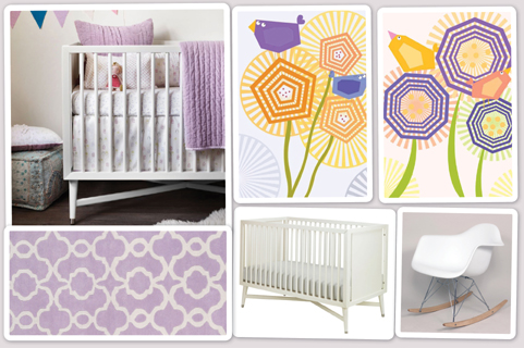 Pretty in Purple Nursery