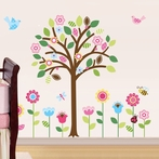 Pretty Pastel Garden Wall Decals